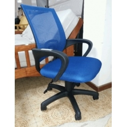 Sillon Pc Bulk 10.200 Malla Azul