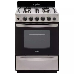 Cocina Whirlpool Wfx57dw Multigas Inoxidable.