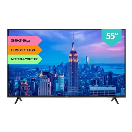 Tv Smart 55 Rca Netflix 4k Ultra Hd X55andtv Android