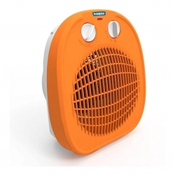 Caloventor Electrico Steel Home Ic-01 Naranja