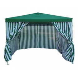 Gazebo Fijo Laury 3 X 3 Mts Con Paredes Lp-080