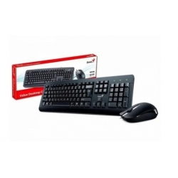 Teclado + Mouse Genius Km-8200 Wireless Black